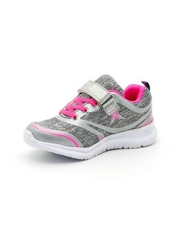 Noxis Noxis Dream Gümüş Günlük Kız Çocuk Yürüyüş ve Spor Ayakkabısı Gümüş